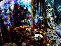 Bschoeni, Abstrakt, Kugel, Digitale kunst
