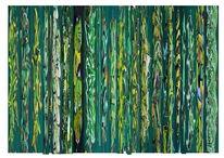 Grün, Struktur, Bschoeni, Abstrakt