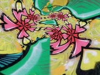 Graffiti, Bschoeni, Abstrakt, Digitale kunst