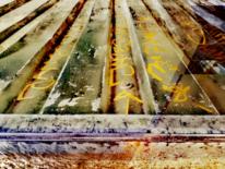 Graffiti, Maserung, Wandmalerei, Abstrakt