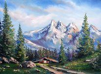 Landschaft, Berge, Natur, Alpen