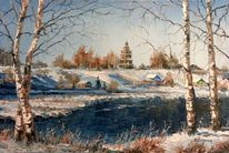 Natur, Winter, Landschaft, Russland