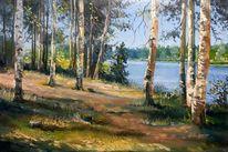 Natur, Sommer, Malerei, Landschaft