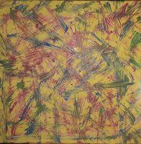 Magenta, Gelb, Acrylmalerei, Malerei