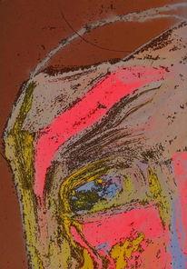 Ölmalerei, Digital, Portrait, Mischtechnik