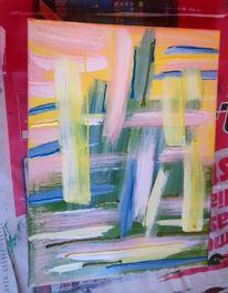 Grün, Acrylmalerei, Freude, Acrylfarben