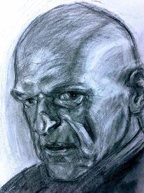 Portrait, Skizzenbuch, Charakterkopf, Zeichnungen