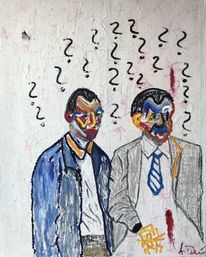 Ölmalerei, Mord, Verzweiflung, Unfähigkeit