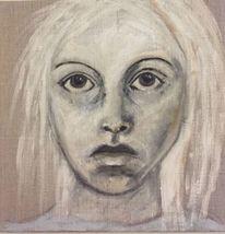 Göttin, Malerei, Leinen, Portrait