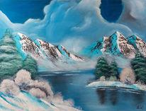 Schnee, Kalt, Winter, See