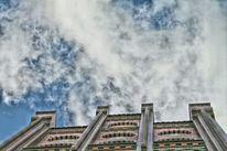 Himmel, Haus, Wolken, Natur