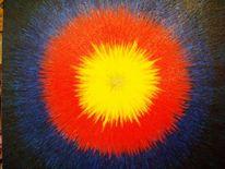 Acrylmalerei, Struktur, Anfang, Zeit