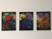 Effekt, Malerei, Fantasie, Bunt