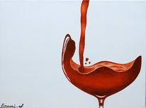 Rotwein, Fest, Wein, Luxus