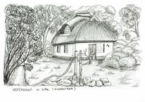 Vitte, Reetdachhaus, Ostsee, Hexenhaus