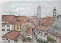 Altstadt, Unterlauengasse, Oberlauengasse, Thüringen