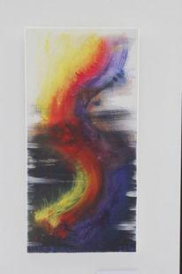 Malerei, Fantasie, Mischtechnik, Abstrakt