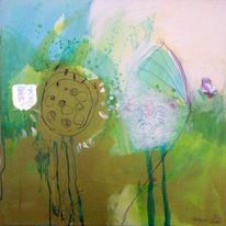 Wasser, Natur, Malerei, Grün