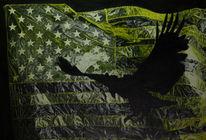 Ölmalerei, Adler, Amerika, Malerei