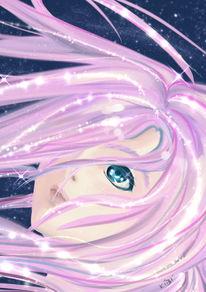 Manga, Zeichnung, Semi realistic, Digitale kunst