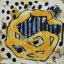 Mathematiker, Malen, Bonsai, Gemälde
