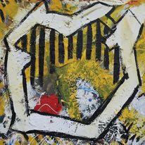 Gelb, Bonsaibaummeister, Gemälde, 2319