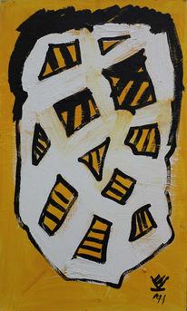 Imker, Gemälde, 2327, Bonsaibaummeister