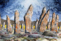 Highlands, Shetland, Insel, Alt