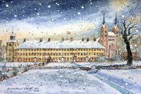 Kloster, Höxter, Kirche, Winter