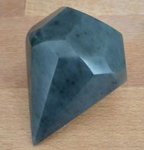 Diamant, Schwarz, Speckstein, Kunsthandwerk