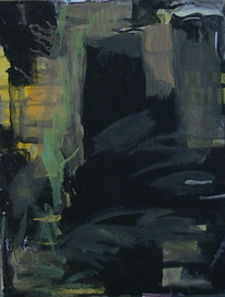 Abstrakte malerei, Schwarz, Wild, Malerei