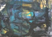 Informel, Gouachemalerei, Abstrakter expressionismus, Wild
