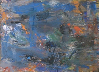 Abstrakter expressionismus, Urwald, Abstrakte malerei, Wild