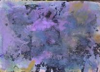 Abstrakte malerei, Abstrakter expressionismus, Gouachemalerei, Malerei