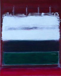 Weiß, Malerei, Expressionismus, Geburtstagstorte