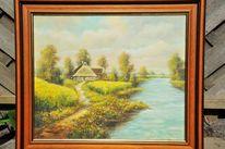 Landschaft, Malen, Ölmalerei, Pinnwand