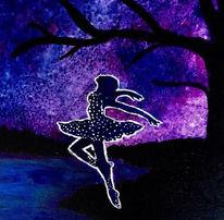 Nacht, Farben, Lebensfreude, Mond