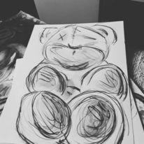 Figur, Malerei, Fantasie, Zeichnungen