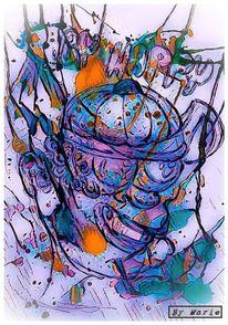 Aquarellmalerei, Farben, Fotografie, Illustrationen