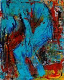 Menschen, Widerstand, Stärke, Malerei