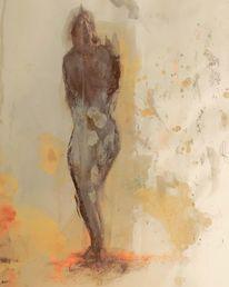 Portrait, Modern, Malerei modern, Menschen