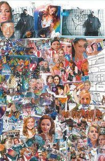 Kino, Tanz, Collage, Musik