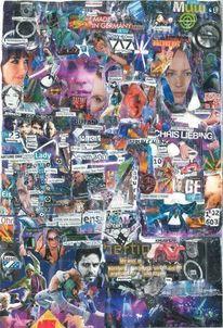 Collage, Thc, Farben, Kino