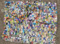 Bunt, Farben, Kino, Collage