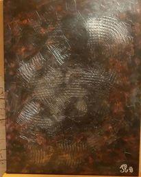 Einzelstück, Acrylmalerei, Malerei modern, Malerei acryl