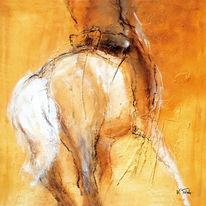 Pferdestudie, Reiter, Pferde, Pferdeportrait