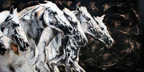Pferdeherde, Pferdeportrait, Tiere, Pferde