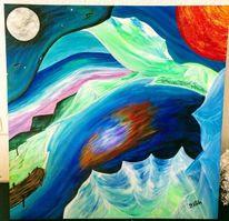 Multi, Elementen, Trippy, Malerei