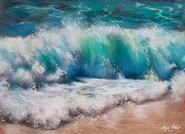 Wasser, Ozean, Blau, Welle
