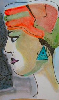 Wilde, Goldene jahre, Aquarell, Stil